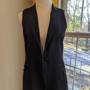 Rag and Bone black wool vest 0